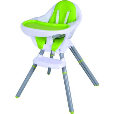 Star Kidz Ossa 2in1 HiLo High Chair - Green
