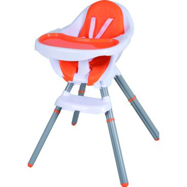 Star Kidz Ossa 2in1 HiLo High Chair - Orange