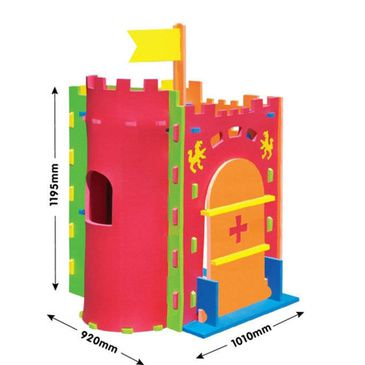 Cubby House - Kids EVA Foam Castle Play House | Castle Cubbyhouse