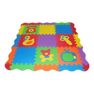 45pcs Kids Baby Activity EVA Foam Floor Puzzle Interlocking Play Mat Rug