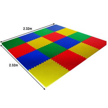 Child Baby EVA Foam Safety Mat 2.3m x 2.3m Super Thick Playpen Play Floor Puzzle