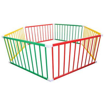 TikkTokk BOSS Playpen - Coloured Jumbo Hexagonal Playpen | Large Kids Playpen