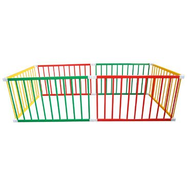 Tikk Tokk BOSS Playpen - Coloured Jumbo Rectangle Playpen | Large Kids Play Pen