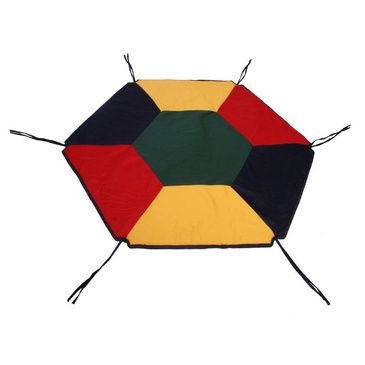 TikkTokk Baby Playpen Fabric Floor Mat Hexagon Toddler Safety Rug