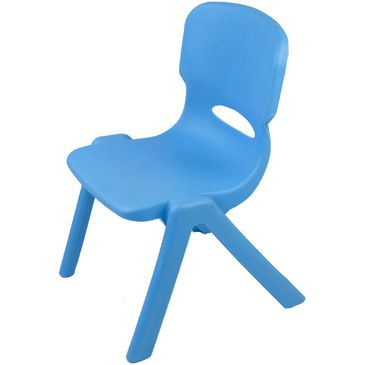 Resin Childrens Chair - Blue TikkTokk Kids Chair