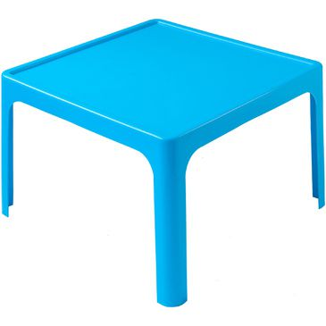 Childrens Resin Table Kids Plastic Table BLUE