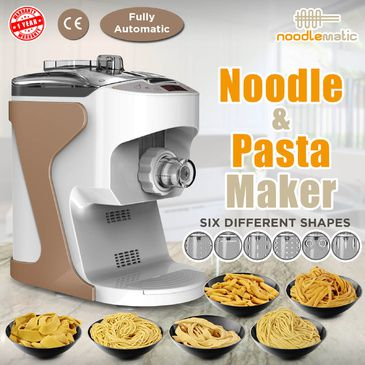 Noodlematic Pasta & Noodle Maker (Gold)
