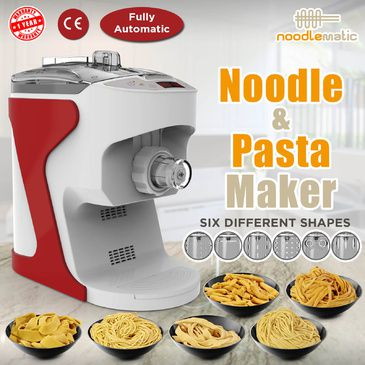Noodlematic Pasta & Noodle Maker (Red)