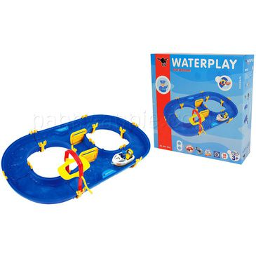 BIG - Waterplay Raceway Including Two Boats