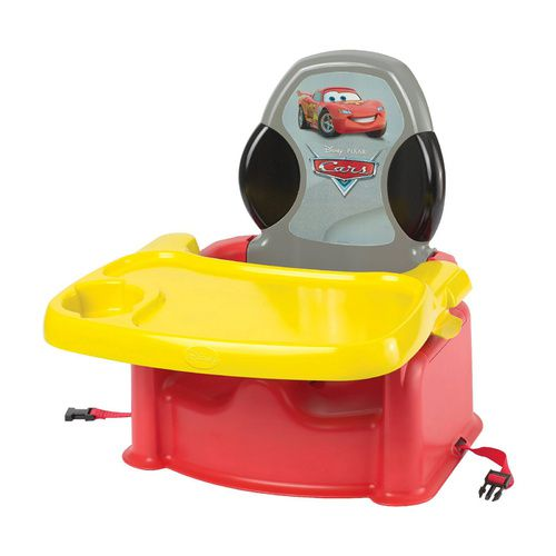 the first years disney cars lightning mcqueen child booster seat with dining tray. Black Bedroom Furniture Sets. Home Design Ideas