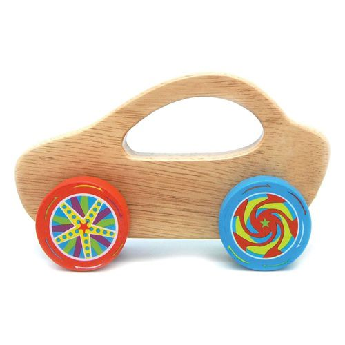 Kid's Toy Car Giggles Wooden Racing Car