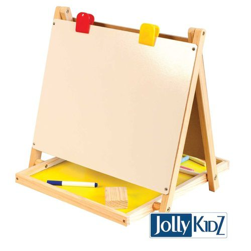 Kids Easel Tabletop Childrens Easel JollyKids Art Easel