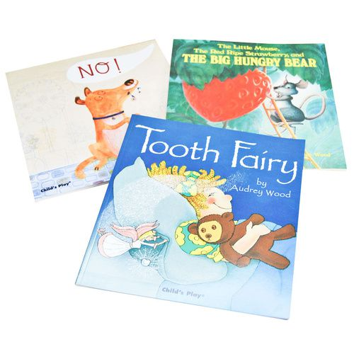 Set of 3 Children's Books - No!, Tooth Fairy, The Big Hungry Bear | Kid's Books