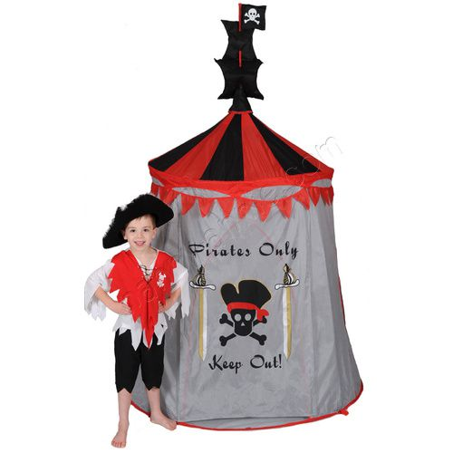 Play Tent | Pirate Pop-Up Play Tent | Character Cubby House