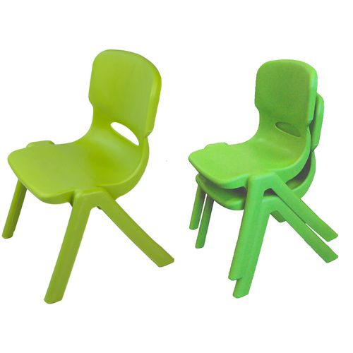 Resin Childrens Chair (Set of 2) (Green)