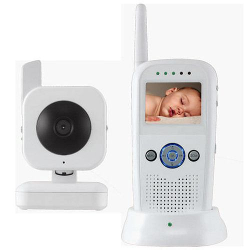 Digital Wireless Baby Monitoring System - Colour Video