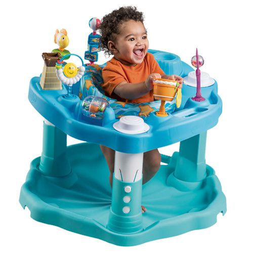 "Exersaucer - ""Beach Baby"" Play and Learn Exersaucer 