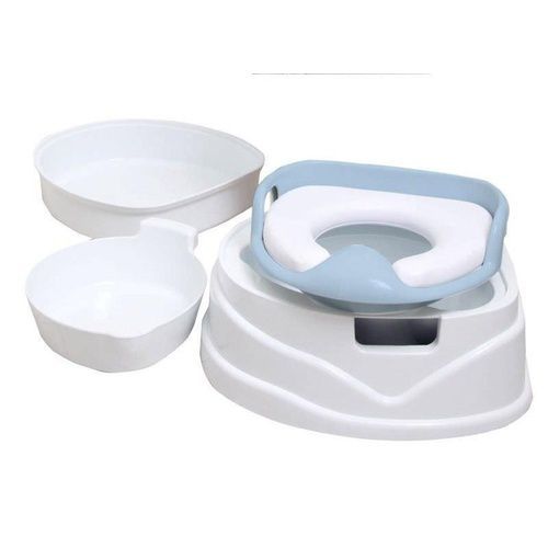 Toilet Training Set- Roger Armstrong Potty Soft Seat Step Stool Removable Bowl