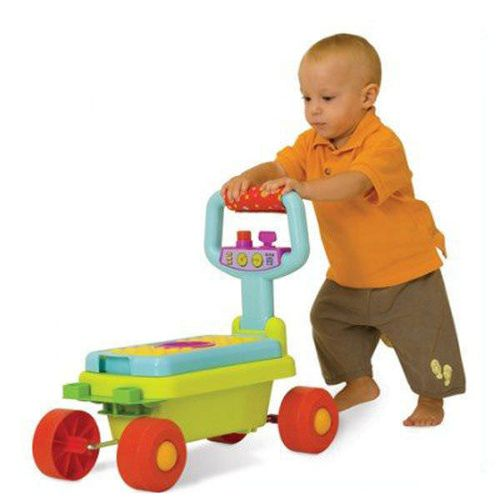 Taf Toys - Baby 4 in 1 Developmental Walker - Ride, Push, Pull and Play