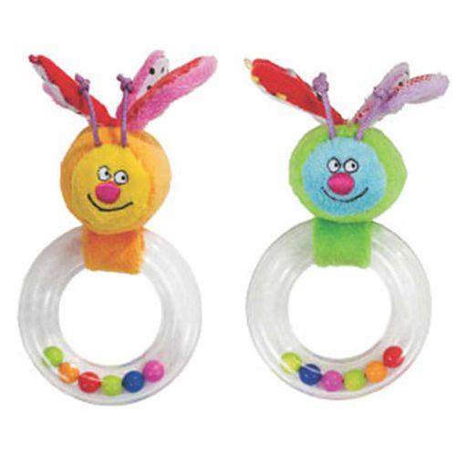 Taf Toys Baby Ring Butterfly Rattle Set