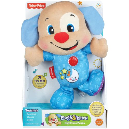 Fisher Price - Laugh & Learn Nighttime Puppy