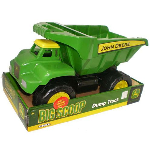 John Deere - 38cm Big Scoop Dump Truck | Kids Toy Truck - Great for Sand Play