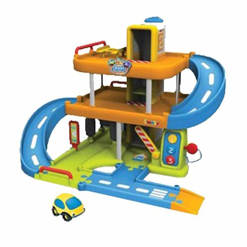 Vroom Planet Garage Playset with Bonus DVD