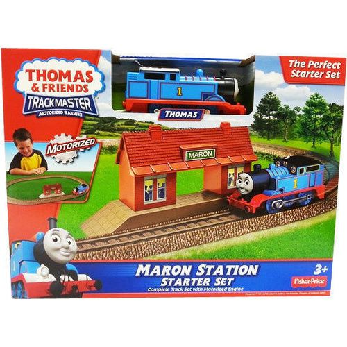 Thomas and Friends Maron Station Starter Set | Thomas Busy Day Playset