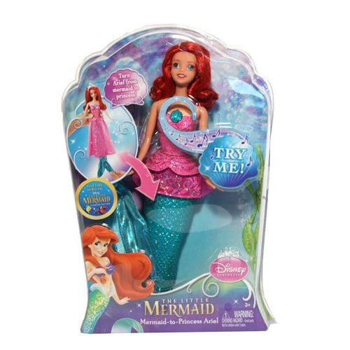 Disney Princess - The Little Mermaid - Transforming Ariel Doll