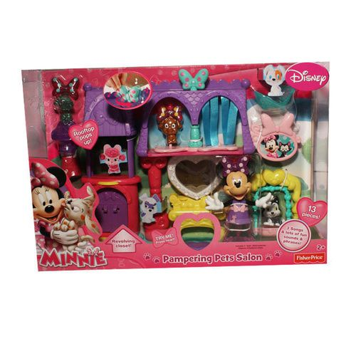 Minnie Mouse Pampering Pets Salon