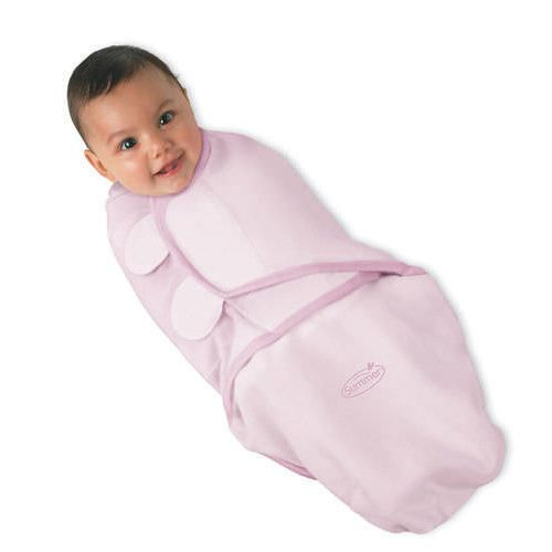 SWADDLEME Wrap (Kiddopotamus) Pink Cotton Wrap - Small