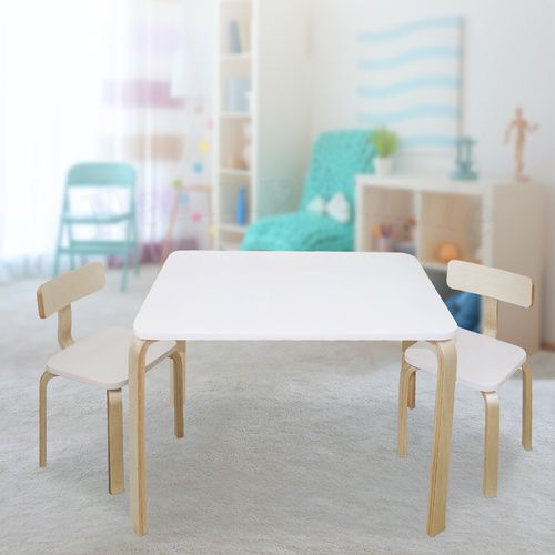 Nu Bondi Table & 2 Chairs Set - White