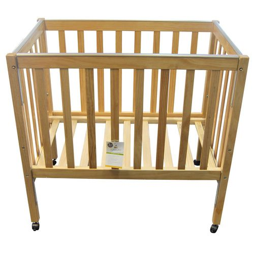 Sunbury Nursery Compact Cot - Wooden Kids Cot - Natural | Baby's Wooden Cot