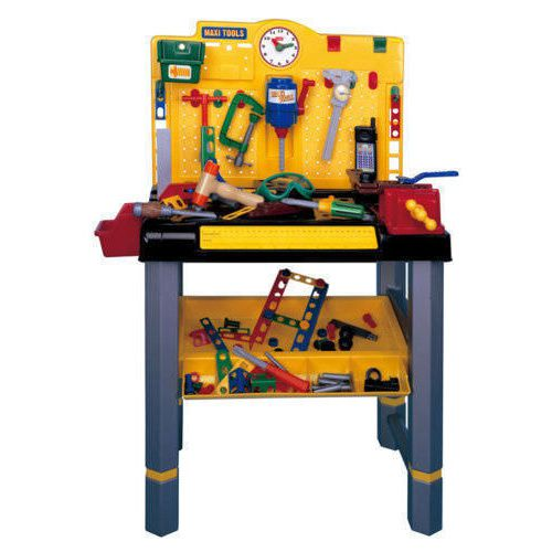 Pretend Play Role Play Kids Childrens Handy Boy Work Bench with Tools