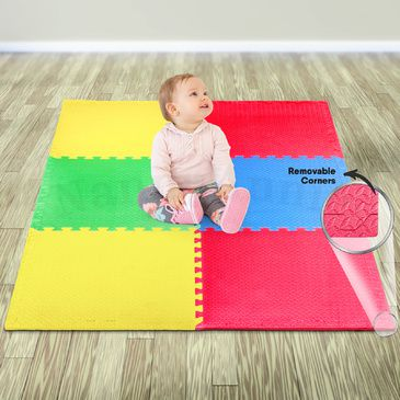 Baby EVA Play Mat (6 Pieces) (1.8m x 1.2m)