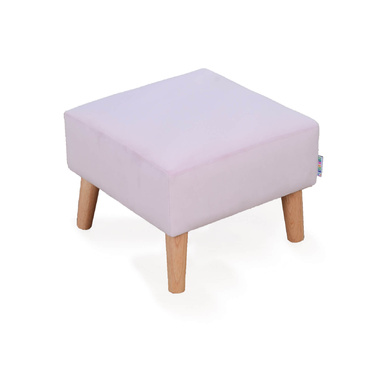 Star Kidz Foot Stool - Pink Velvet