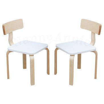 Nu Bondi 2 Chairs Set White