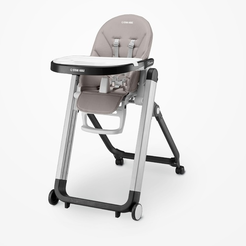 Star Kidz Bimberi High Chair - Silver